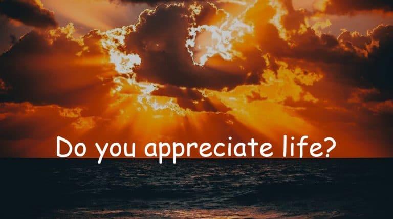 Power of appreciation